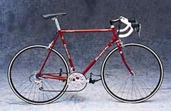 picture of a Bianchi Eros bicycle